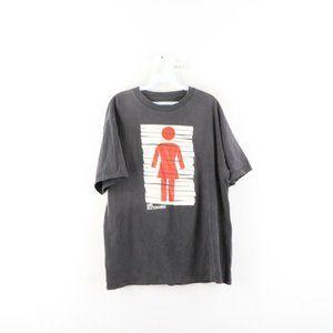 Vintage Girl Skateboards Short Sleeve Shirt Black